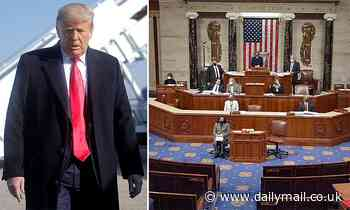 Donald Trump is impeached for the SECOND TIME after bipartisan vote