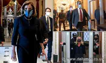 Nancy Pelosi asks Capitol cops to prevent Republicans walking round metal House detectors