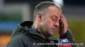 """Bayern blamiert sich im Pokal bis auf die Knochen! Hansi Flick konsterniert: """"Es ist ein Schock"""""""