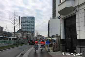 Bordje 'Fietsers afstappen' nog niet verdwenen uit Antwerpse straatbeeld - Gazet van Antwerpen
