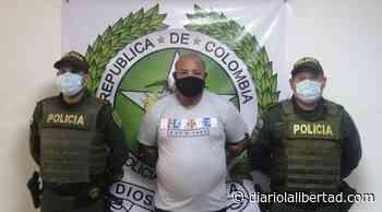 Capturado en Luruaco alias 'Hans', presunto líder de grupo delincuencial - Diario La Libertad