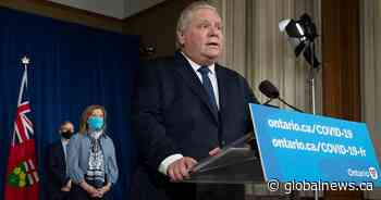 Coronavirus: Ontario government's stay-at-home order now in effect