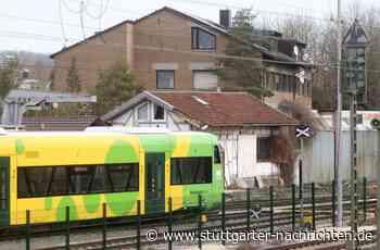 Bahnlinie in Schwieberdingen - Mutprobe: Mädchen riskiert ihr Leben - Stuttgarter Nachrichten