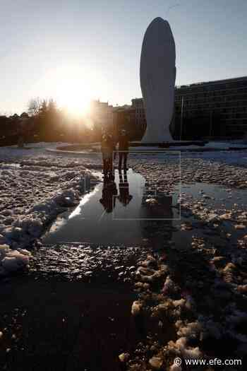 Mañana, heladas fuertes y temperaturas inferiores a -10ºC en ambas mesetas - Agencia EFE