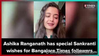 Actress Ashika Ranganath has a special wish this Makara Sankranti