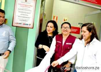 Inauguran dos nuevos Centros Emergencia Mujer en comisarías de Picota y Tabalosos - DIARIO AHORA