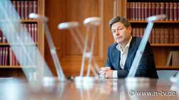 Neues Buch des Grünen-Chefs: Wenn Robert Habeck Kanzler wäre …