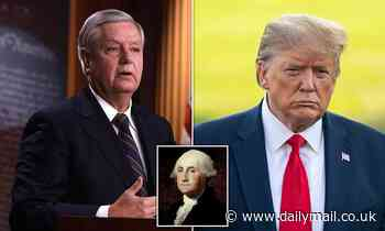 Lindsey Graham fears convicting Trump could lead to impeachment of George Washington