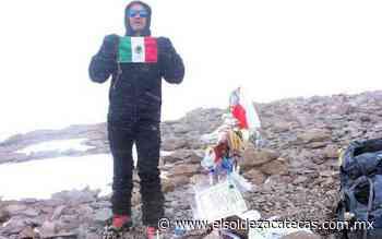 Miguel Alvarado, fresnillense con pasión por el alpinismo - El Sol de Zacatecas