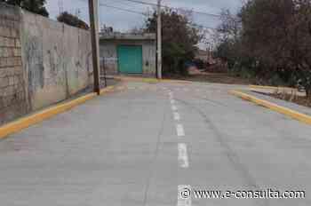Inaugura Angélica Alvarado nueva vialidad en Huejotzingo | e-consulta.com 2021 - e-consulta