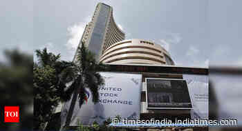 Sensex, Nifty end at fresh record highs; TCS jumps 3%