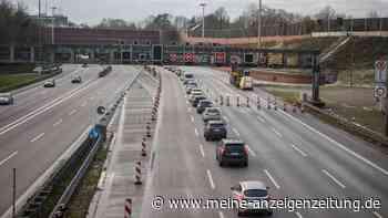 Lkw-Unfall vorm Elbtunnel: Super-Stau und Sperrung auf der A7