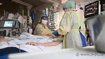 Weniger Patienten in Kliniken: Intensivmediziner schöpfen Hoffnung