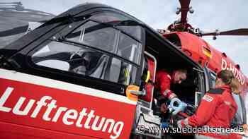 """""""Christoph""""-Hubschrauber heben rund 3230 Mal ab - Süddeutsche Zeitung"""