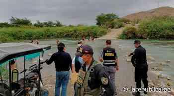 Lambayeque: personas acuden al río Reque sin respetar medidas sanitarias - LaRepública.pe
