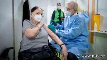 Tempo muss steigen: Ein Prozent der Bevölkerung ist geimpft