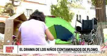 Cerro de Pasco: Personas contaminadas con metales pesados exigen atención del Estado - América Televisión