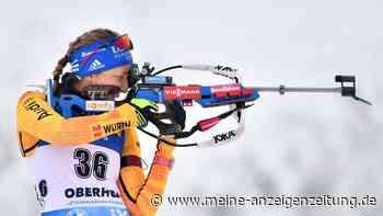 Biathlon in Oberhof: Herrmann patzt am Schießstand - Preuß stark