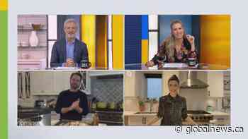 'Private Eyes' stars Jason Priestley and Cindy Sampson have a fry-off