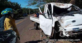 Conductor lesionado tras caer a un barranco en carretera de Intipucá, La Unión - Solo Noticias