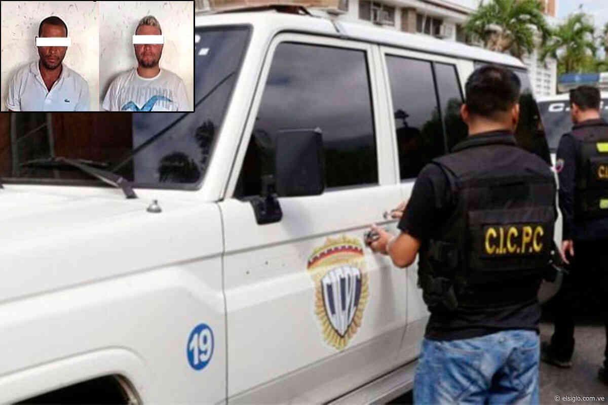 Cicpc apresó a dos hombres por hurto en Camatagua elsiglocomve - Diario El Siglo