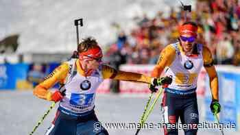Biathlon in Oberhof im Liveticker: Mit geballtem Selbstbewusstsein in die Staffel-Jagd