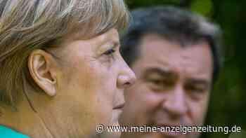 CDU-Parteitag: Merkel und Söder halten ihre Reden - bringt sich der bayerische Ministerpräsident in Stellung?