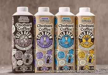Chobani enters RTD coffee category: 'It's a logical adjacency,' says president Peter McGuinness