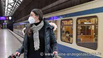 FFP2-Maske die Lösung? Medizinerin sieht neues Problem im ÖPNV - und warnt vor gefährlicher Wetter-Tücke