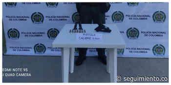 Incautan un arma de fuego, 2 proveedores y 18 cartuchos en Sitionuevo - Seguimiento.co