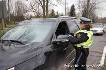 Essex County Festive RIDE results in 11 impaired charges - BlackburnNews.com
