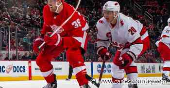 Carolina Hurricanes at Detroit Red Wings: Game Preview and Storm Advisory - Canes Country