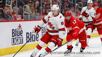 Carolina Hurricanes at Detroit Red Wings odds, picks and prediction - USA TODAY Sportsbook Wire