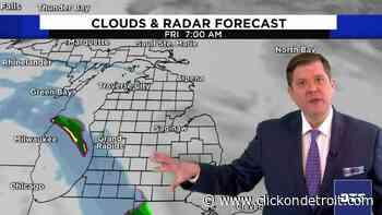 Metro Detroit weather forecast for Jan. 14, 2021 -- morning update - WDIV ClickOnDetroit