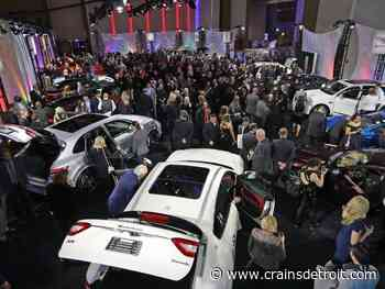 Detroit auto show on life support - Crain's Detroit Business