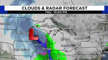 Metro Detroit weather: Warm week leads to wet weekend - WDIV ClickOnDetroit
