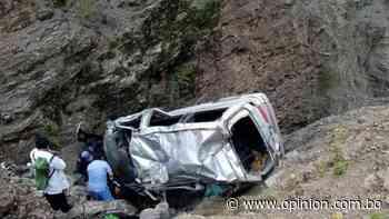Accidente deja cuatro muertos y ocho heridos en Potosí - Opinión Bolivia