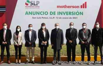 Compañía automotriz internacional invierte 640 mdp en San Luis Potosí - Quadratín Jalisco