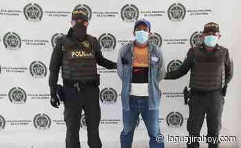 Capturan a hombre en Riohacha, quien le estaba pegando a su mujer - La Guajira Hoy.com