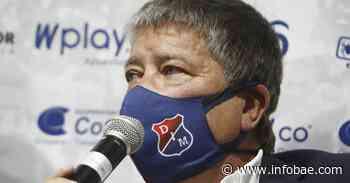 El 'Bolillo' Gómez celebró su primer triunfo como director técnico del Medellín, pero no se confía - infobae