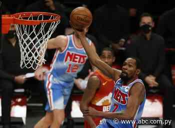 Kevin Durant: 26 puntos para el triunfo de los Nets - Básquetbol - ABC Color