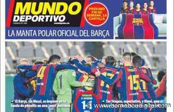"""PORTADA - Mundo Deportivo, con el triunfo culé: """"¡A la final!"""" - bernabeudigital.com"""
