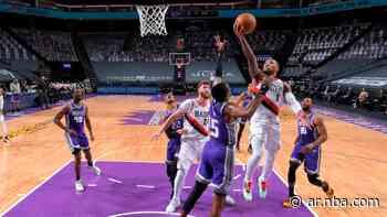 Damian Lillard, exhibición histórica con Portland Trail Blazers para el triunfo sobre Sacramento Kings - NBA AR