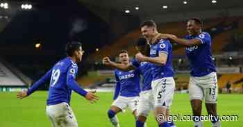 James Rodríguez, pinceladas de su mejor fútbol en el triunfo del Everton 2-1 sobre Wolverhampton - Gol Caracol