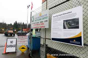 New West holding pop-up recycling event Jan. 16 - The Record (New Westminster)