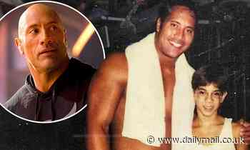 Dwayne 'The Rock' Johnson shares throwback after early pro-wrestling match at flea market for $40