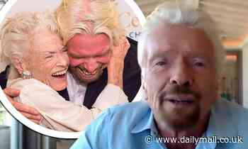 Richard Branson pays tribute to mother Eve, 96, after her death from Covid and says he's 'lucky son'