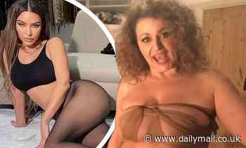 Nadia Sawalha, 56, mocks Kim Kardashian's SKIMS in another playful clip