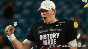 Alabama QB Mac Jones among four Crimson Tide players to declare for 2021 NFL Draft