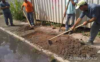 Ações são realizadas em Volta Redonda para evitar transtornos causados pelas chuvas - O Dia